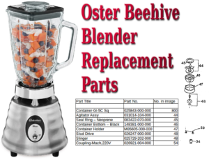 oster beehive blender parts