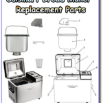 cuisinart bread maker parts