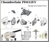 chamberlain replacement parts for chain drive garage door openers