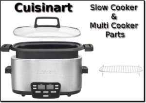 cuisinart slow cooker and multi cooker parts