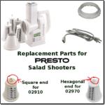 presto salad shooter parts