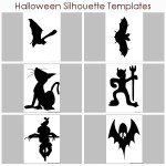 halloween silhouette templates