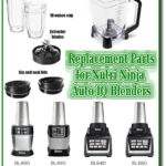 nutri ninja auto iq replacement parts