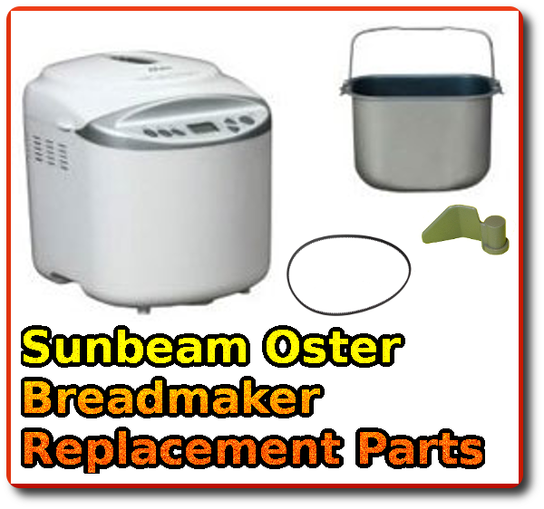 oster breadmaker parts