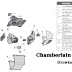 chamberlain pd612ev garage door opener parts