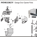 chamberlain replacement parts for belt driven garage door openers