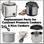 cuisinart pressure cooker and rice cooker parts