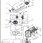 kitchenaid artisan planetary unit parts