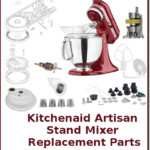 kitchenaid artisan stand mixer replacement parts