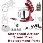 kitchenaid artisan stand mixer replacement parts
