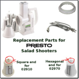 presto salad shooter parts