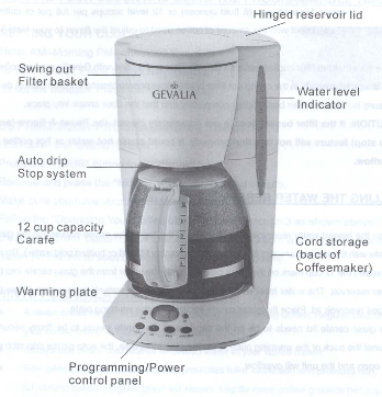 Programmable 12-Cup Coffeemaker C60-A
