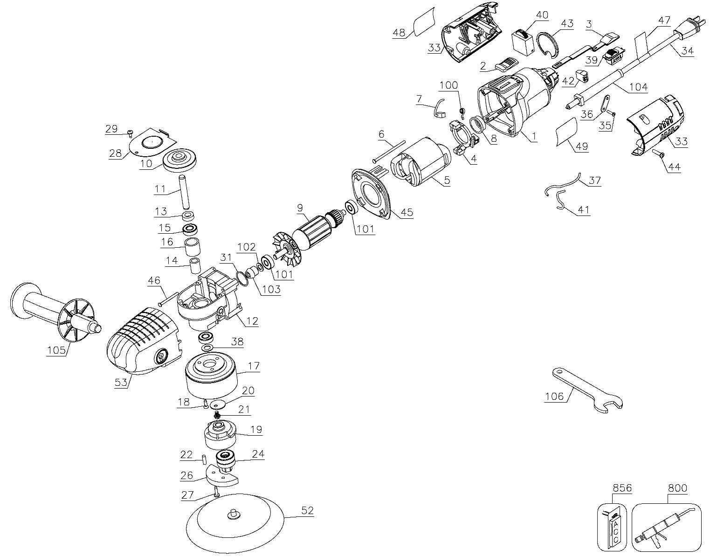 porter cable 7424xp parts