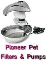 pioneer pet filters pumps