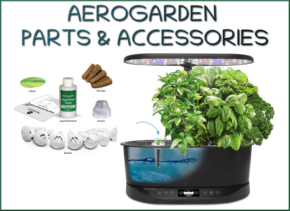 Replacement Parts for Aerogarden Planting Systems