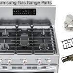samsung gas range parts