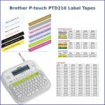 Brother P-touch Label Maker Tape